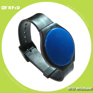 Em4102 RFID Silicon Bracelet, S50 S70 RFID Silicone Wristband, T5577 Wristband pictures & photos
