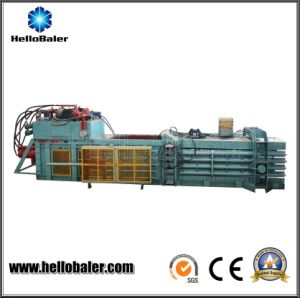 100 Ton Pressing Force Automatic Baler for Waste Cardboard pictures & photos