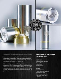 Mechanical Mod, Perfect Design Big Power E Cigarette pictures & photos