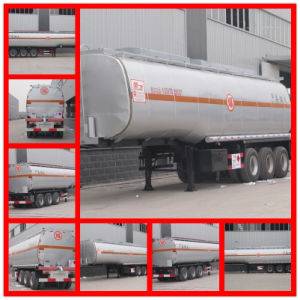 5mt 6 Mt 3 Axle 50000liters Carbon Steel Fuel Tank Trailer pictures & photos