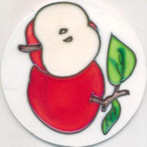 Decorative Ceramic Coaster (SYT-CCM108-29)