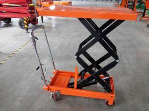 Light Duty Scissor Lift Platform Work Height 1000mm pictures & photos