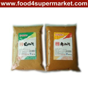 Miso Soya Bean Paste White and Red in 1kg Plastic Bag for Miso Soup pictures & photos