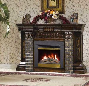 CE Approved European Electric Fireplace (637) pictures & photos