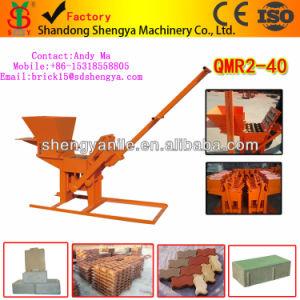 Manual Mini Cement Interlocking Brick Making Machine Qmr2-40 Best Reputation New Clay Brick Making Machine pictures & photos