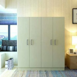 Wholesale Cheap Panel Furniture Melamine MDF Wardrobe/Cabinet/ pictures & photos