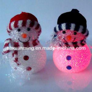 """5"""" Color Change LED Snowman"""