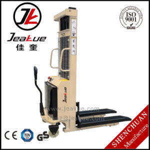 Ce ISO Economical and Practical Semi Electric Stacker pictures & photos