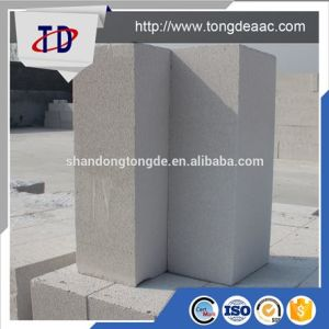 Sand Based Lightweight White AAC Wall Block