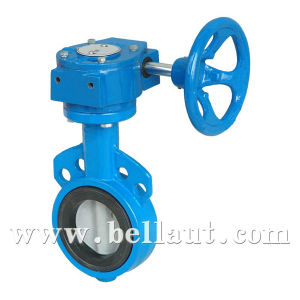 china worm actuated wafer manual butterfly valves china. Black Bedroom Furniture Sets. Home Design Ideas