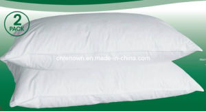 2pk White Duck Feather Pillow (REN-DFP-P02)