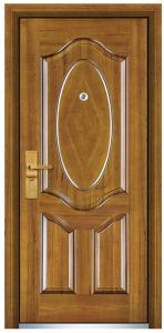 Steel Wooden Door (FXGM-C320) pictures & photos