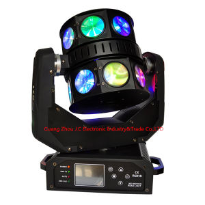 16PCS LED Double Rotation Flying UFO Moving Head Light pictures & photos