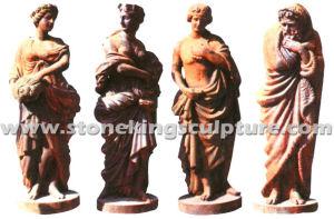 Cast Iron Statue, Cast Iron Sculpture and Garden Statue (SK-6678) pictures & photos