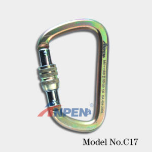 CE En 12275 Certified Steel Carabiner (C17) pictures & photos