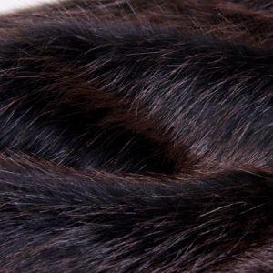 Tip Printed Fake Fur Long Plush (DCM015)