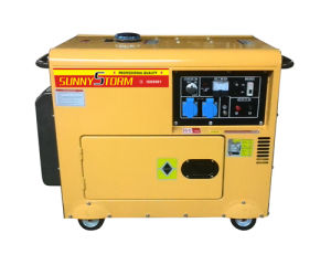 5kw Old Modle Silent Diesel Generator Set pictures & photos