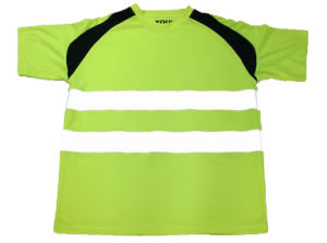 Green Reflective T-Shirt Vest pictures & photos