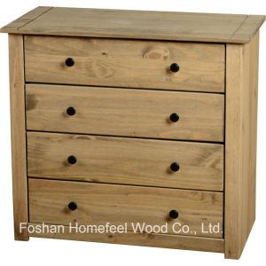 Antique Wooden Bedroom 4 Drawer Chest Dresser (HC16) pictures & photos