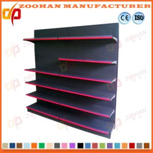 Hypemarket Single Side Retail Perforated Back Wall Display Shelves (Zhs546) pictures & photos