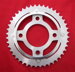 Motorcycle Sprocket/White Zinc Color pictures & photos