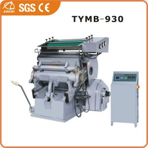 Cardboard Hot Stamping Machine (TYMB-930) pictures & photos