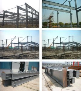 Structural-Steel Frame Structure with Hot DIP Galvanizing Surface Hy-Ss120 pictures & photos