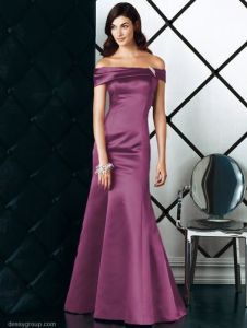 off Shoulder Evening Dresses and Evening Gowns (dessy-lbm027)