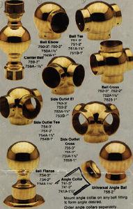 Brass Rail Fittings