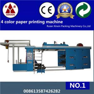 High Speed 4 Color Flexo Printing Machine Ce Certificate