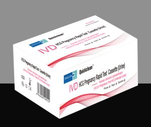 HCG Pregnancy Urine Rapid Test Kit pictures & photos