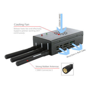 High Power Wireless Video and WiFi Jammer pictures & photos