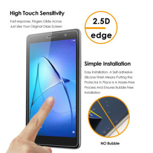 New Premium Tempered Glass Screen Protector Film for Huawei Tablet Models, for Huawei Mediapad T3 8.0, for Huawei Mediapad T3 10.0 pictures & photos