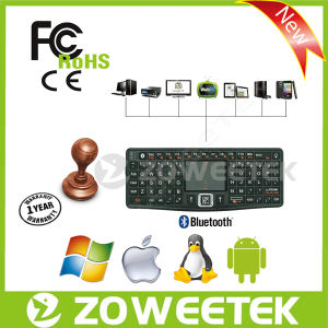 with Backlit Function Azerty Keyboard and Mouse Combo for Smart TV, Android TV Box pictures & photos