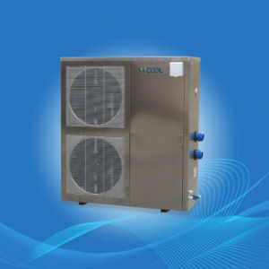 Stainless Steel Shell Swimming Pool Heat Pump pictures & photos