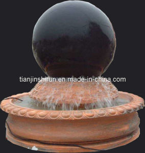 Stone Water Ball Sphere Fountain Carving (FNT059) pictures & photos