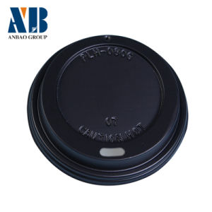 80mm/90mm Disposable Black Lid