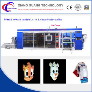 Automatic China Plastic Chocolate Box/Container Thermoforming Machine pictures & photos