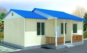 Well Designed Prefabricated Houses in Sandwich Panels pictures & photos