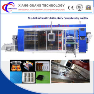 Automatic Plastic Chocolate Boxes Vacuum Thermoforming Machine pictures & photos