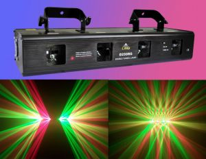 Four-Tunnel Rg Laser Light for DJ (D250RG)