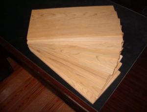 Barbecue Tool - Cedar Barbecue Grill Board pictures & photos