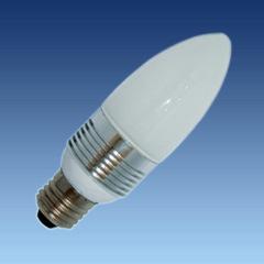 C42 3x1W LED Bulb