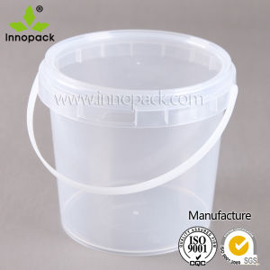1kg Honey Packing Container in PP Plastic, Honey Plastic Bucket for Sale pictures & photos