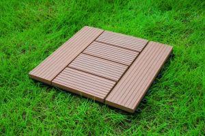 DIY Composite Flooring Tiles/WPC Interlocking Tiles pictures & photos