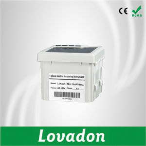 LED 3 Phase Current Voltage Frequency Smart Electric Meter pictures & photos