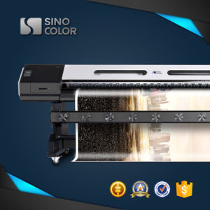 10 Feet Sinocolor Sj1260 Eco Solvent Printer Machine with Epson Dx7 Printheads pictures & photos