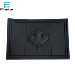 Pinstar Cheap Price Rubber Morale Military America Flag PVC Patch pictures & photos