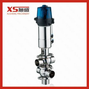 Stainless Steel Hygienic Pneumatic Mixproof Valve pictures & photos