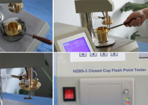 Hzbs-3 Automatic Cleveland Open Cup Petroleum Oil Flash Point Apparatus pictures & photos